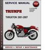 Thumbnail Triumph Thruxton 2001-2007 Factory Service Repair Manual Download Pdf