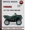 Thumbnail Yamaha ATV YFM 7FGPW 2000-2009 Factory Service Repair Manual Download Pdf