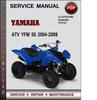 Thumbnail Yamaha ATV YFM 50 2004-2008 Factory Service Repair Manual Download Pdf