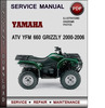 Thumbnail Yamaha ATV YFM 660 Grizzly 2000-2006 Factory Service Repair Manual Download Pdf