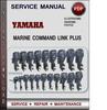 Thumbnail Yamaha Marine COMMAND LINK PLUS Factory Service Repair Manual Download PDF