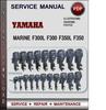 Thumbnail Yamaha Marine F300L F300 F350L F350 Factory Service Repair Manual Download PDF