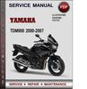 Thumbnail Yamaha TDM900 2000-2007 Factory Service Repair Manual Download PDF