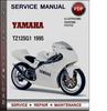 Thumbnail Yamaha TZ125G1 1995 Factory Service Repair Manual Download PDF