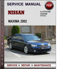 Thumbnail Nissan Maxima 2002 Factory Service Repair Manual PDF