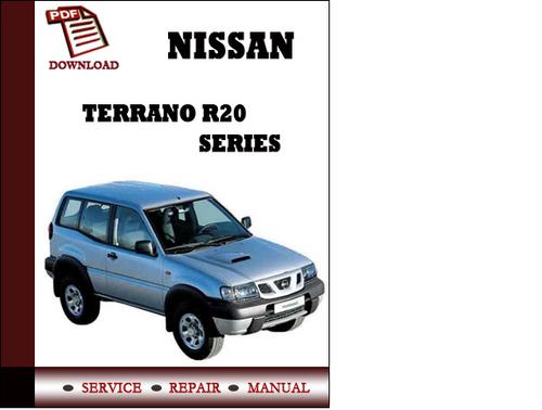 [eBooks] Nissan Terrano Service Manual