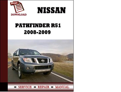 2009 Nissan Pathfinder Manual Free Download