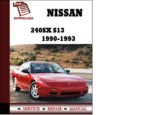 s13 service manual manual guide example 2018 u2022 rh bagelpantry com 1996 240Sx 1989 240Sx
