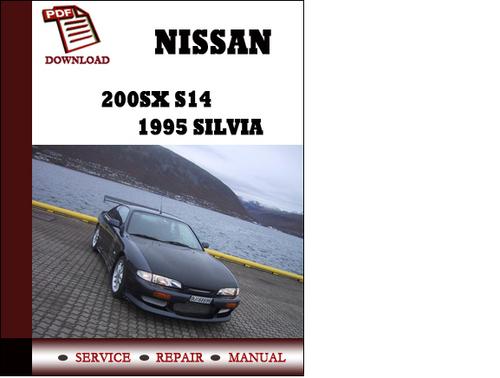 1987 nissan 200sx repair shop manual original.