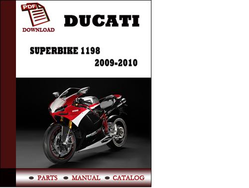 ducati superbike 1198 parts manual catalogue 2009 2010 pdf downlo rh tradebit com 2010 ducati 1198 service manual ducati 1198 workshop service manual