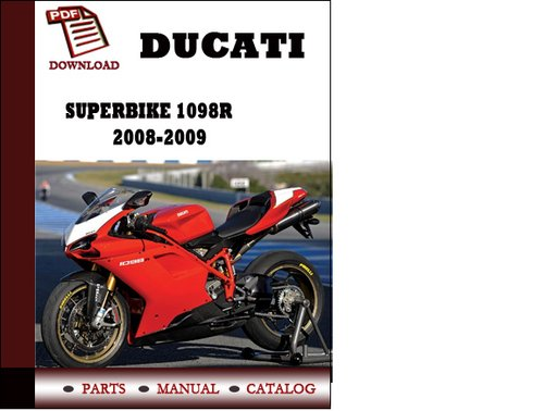 ducati superbike 1098r parts manual catalogue 2008 2009. Black Bedroom Furniture Sets. Home Design Ideas
