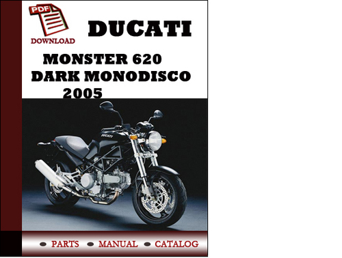 Ducati Monster Dark Service Manual
