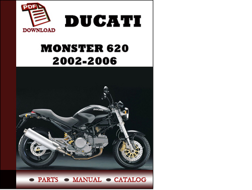 ducati monster 620 parts manual catalogue 2002 2003 2004 2005 200 rh tradebit com