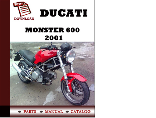 Ducati Monster 600 Parts Manual  Catalogue  2001 Pdf Download   En