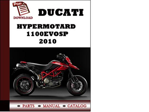 ducati hypermotard 1100evosp parts manual catalogue 2010. Black Bedroom Furniture Sets. Home Design Ideas