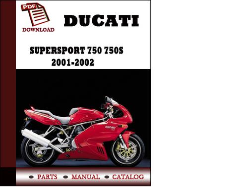 Ducati Supersport  Service Manual
