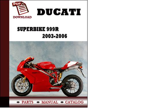 ducati superbike 999r parts manual catalogue 2003 2004. Black Bedroom Furniture Sets. Home Design Ideas