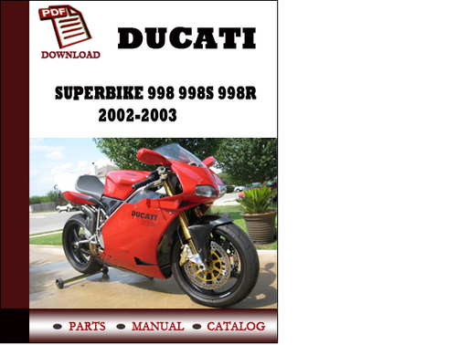 998s workshop manual best setting instruction guide u2022 rh ourk9 co Ducati 916 ducati 998 service manual pdf