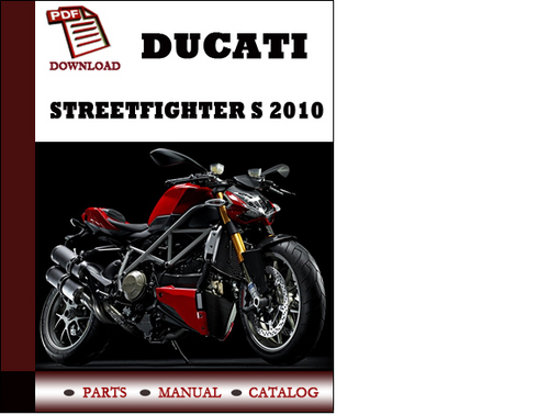 Ducati Streetfighter S Parts Manual  Catalogue  2010 Pdf