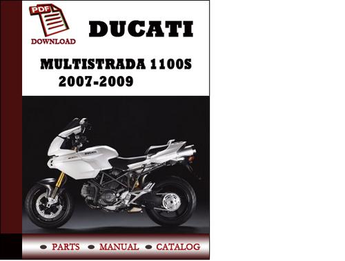 ducati multistrada 1100s parts manual catalogue 2007. Black Bedroom Furniture Sets. Home Design Ideas