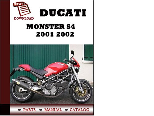 ducati monster s4 parts manual catalogue 2001 2002 pdf. Black Bedroom Furniture Sets. Home Design Ideas