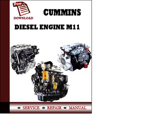 Cummins Service Diesel Engine M11 Stc Celect Plus Industrial Operat