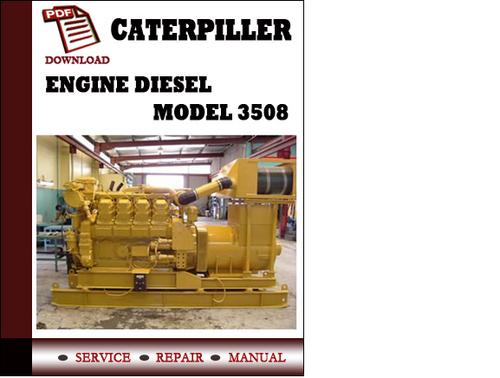 technical service manual book service manual download caterpiller engine diesel model 3508
