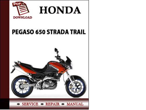 Aprilia Pegaso 650 Strada Trail Workshop Service Repair