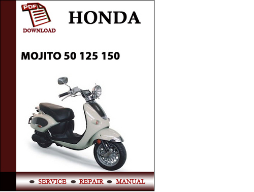 aprilia mojito 125 e3 workshop repair service manual