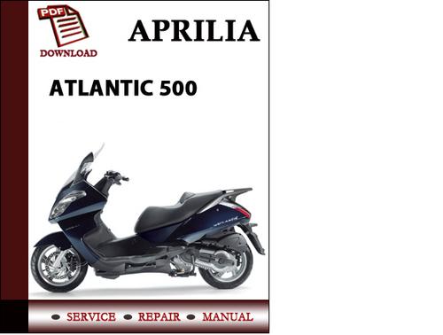 aprilia atlantic 500 workshop service repair manual pdf download rh tradebit com aprilia service manual pdf aprilia service manual pdf