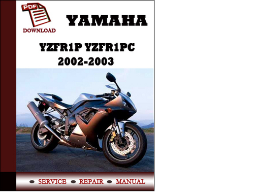 yamaha yzfr1p yzfr1pc 2002 2003 workshop service repair. Black Bedroom Furniture Sets. Home Design Ideas