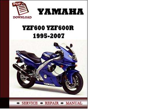 yamaha yzf600 yzf600r 1995 2007 workshop service repair manual pdf rh tradebit com repair manual yzf600r 2003 YZF600R