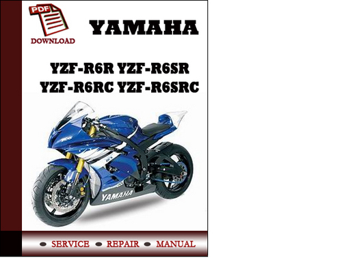 Yamaha Yzf R Service Manual Download