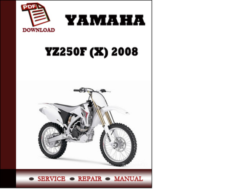 2015 Yz250f Service Manual