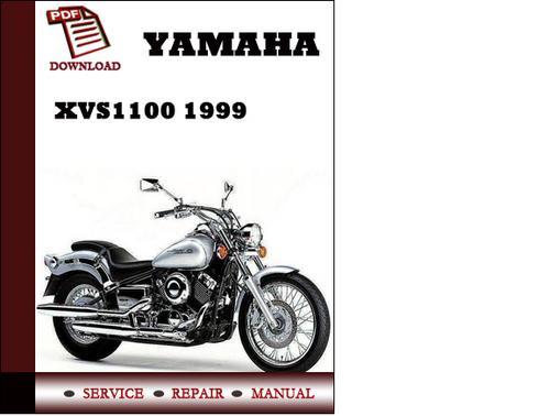 yamaha xvs650 ak 1997 1998 workshop service repair manual. Black Bedroom Furniture Sets. Home Design Ideas