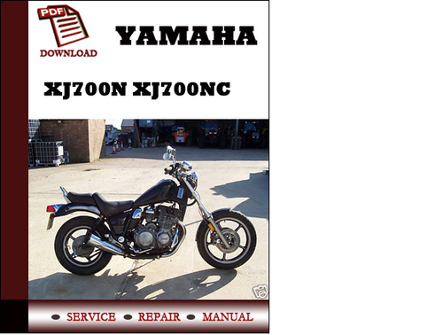 yamaha xj700n xj700nc workshop service repair manual pdf