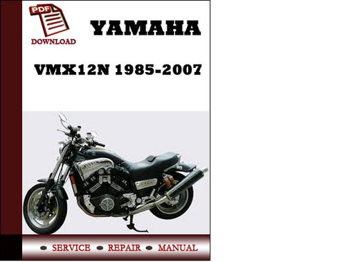 yamaha vmx12n 1985 2007 workshop service repair manual pdf. Black Bedroom Furniture Sets. Home Design Ideas