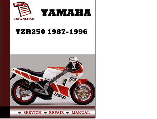 yamaha tzr250 1987 1996 workshop service repair manual pdf download rh tradebit com yamaha tzr 250 manual pdf yamaha tzr 250 3ma manual