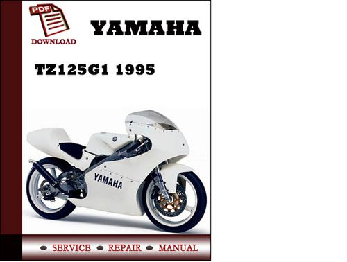 yamaha tz125g1 1995 workshop service repair manual pdf. Black Bedroom Furniture Sets. Home Design Ideas