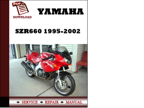 yamaha szr660 factory repair manual 1995 2002 download. Black Bedroom Furniture Sets. Home Design Ideas