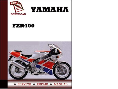 Yamaha fzr400 workshop service repair manual pdf download for Yamaha ysp 5600 manual