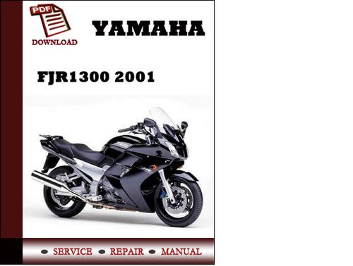 Yamaha Fjrservice Manual Pdf