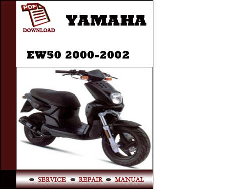 yamaha ew50 2000 2001 2002 workshop service repair manual. Black Bedroom Furniture Sets. Home Design Ideas