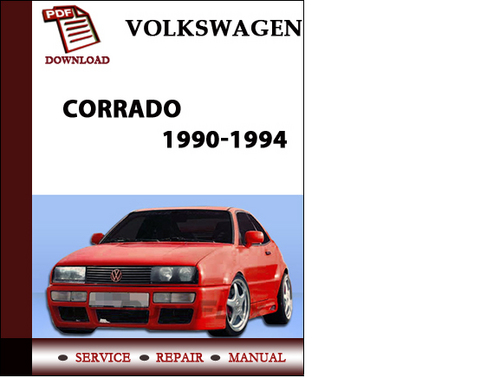 volkswagen corrado      workshop service repair