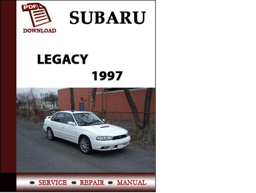 subaru legacy 1997 owners workshop service repair manual pdf downlo rh tradebit com 97 Subaru Outback 1997 subaru legacy repair manual