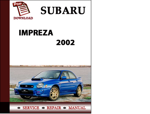 subaru impreza sti 2004 workshop service repair manual. Black Bedroom Furniture Sets. Home Design Ideas