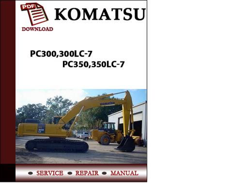 komatsu pc300 7 service manual danceggett. Black Bedroom Furniture Sets. Home Design Ideas