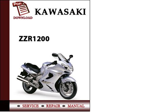 Pay for Kawasaki ZZR1200 Workshop Service Repair Manual Pdf Download