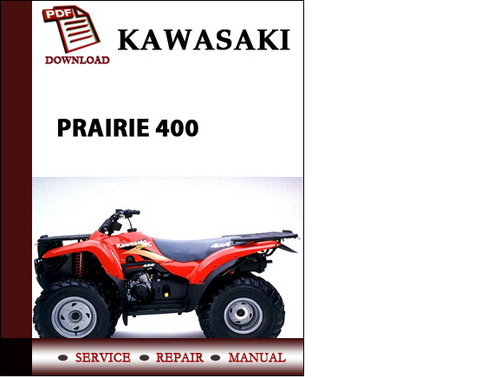 kawasaki prairie 400 repair manual free owners manual u2022 rh wordworksbysea com Kawasaki 400 ATV Owners Manual 2001 Kawasaki 400 Prairie Manual