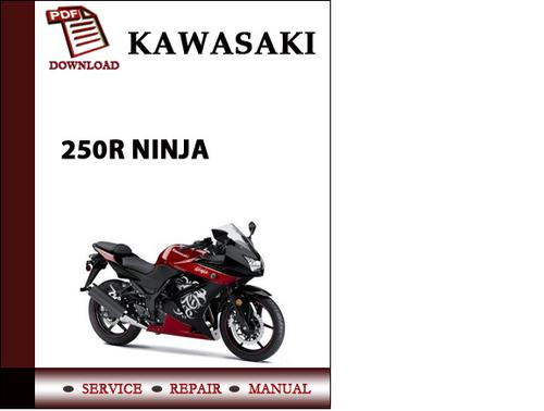 kawasaki 250r ninja workshop service repair manual pdf download d rh tradebit com kawasaki ninja 250r service manual kawasaki ninja 250r manual pdf download